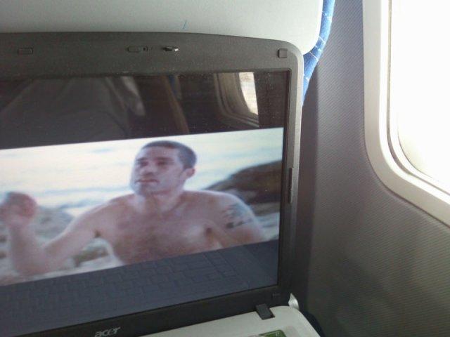 LOST в самолете