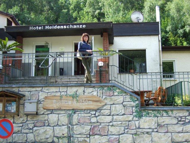 Наш отель в Дрездене