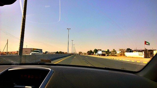 дорога в Дубай