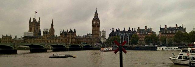 Лондон в начале октября 2015 г