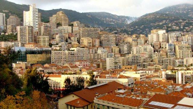 Монако, характерная застройка