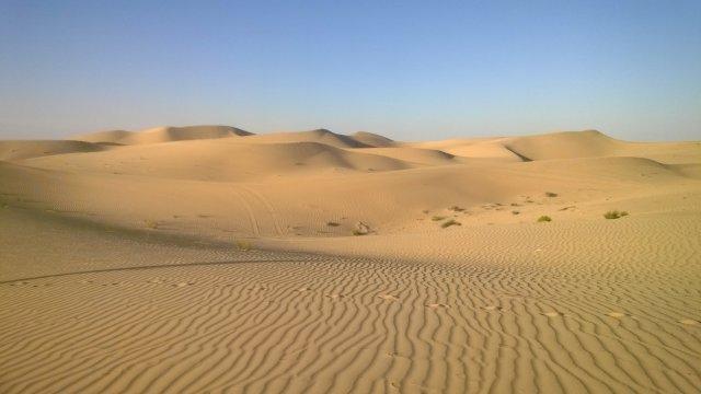 Безбрежная пустыня