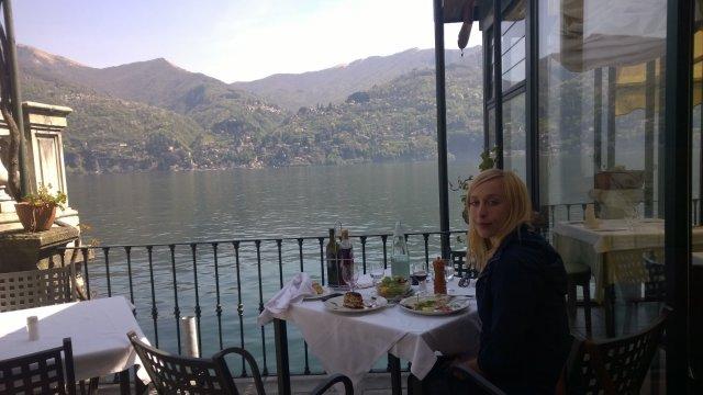 Завтрак на озере Комо!
