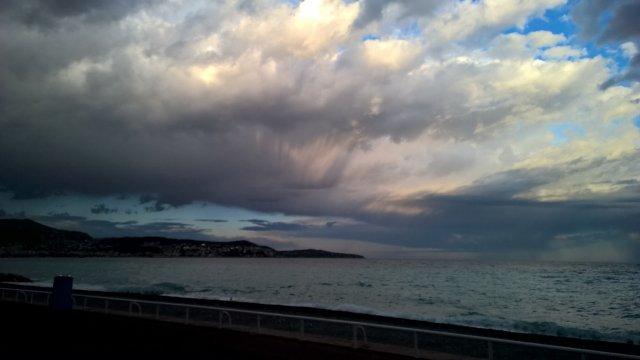 Ницца, море, небо