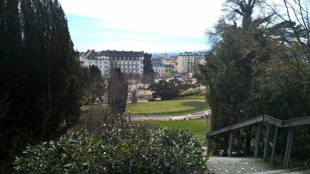 Баден, вид с возвышенного места