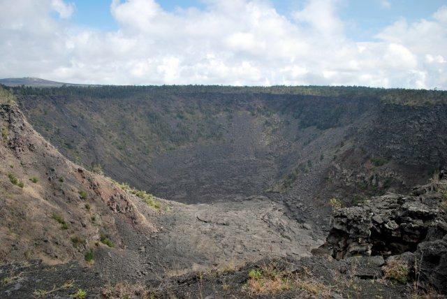 Кратер потухшего вулкана, Большой остров, Гавайи