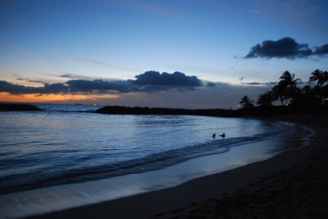 Закат на Кауаи, Гавайи