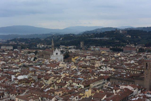 Флоренция с высоты Дуомо