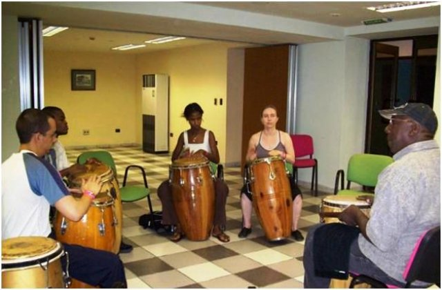 Занятия и танцевальные семинары на Кубе