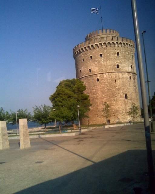 Белая башня в Фессалониках