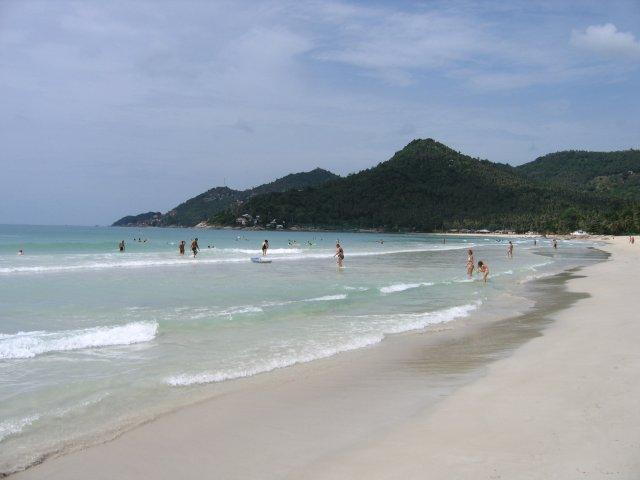Пляж Чавенг-Ной, Самуи