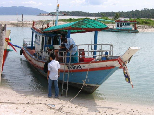 Рыболовная шхуна, Самуи