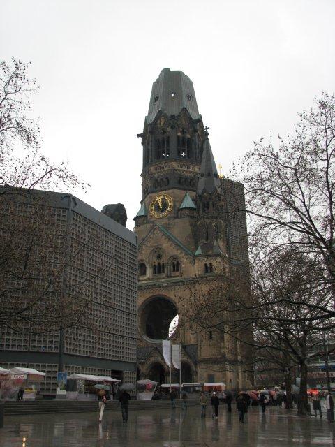 Мемориальная церковь кайзера Вильгельма, Берлин