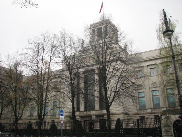 Российское посольство, Берлин