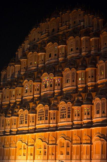 Дворец ветров, Джайпур, Индия