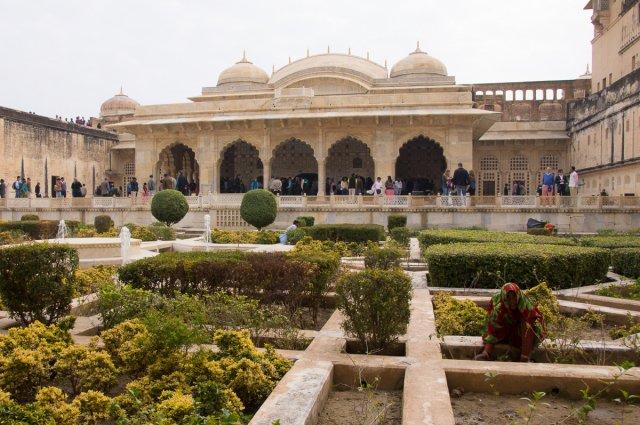 Форт Амбер, Джайпур, Индия