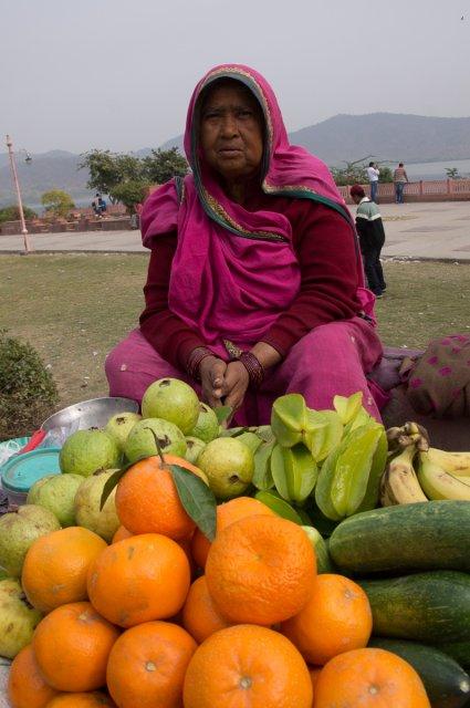 Уличные торговцы, Джайпур, Индия