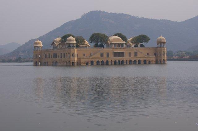 Дворец на воде, Джайпур, Индия