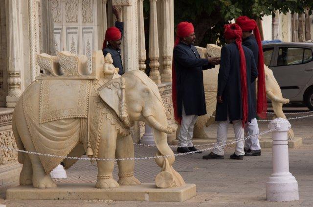 Городский дворец махараджи, Джайпур, Индия
