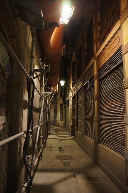 В старом городе, Барселона