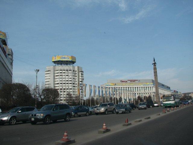 На улицах Алматы