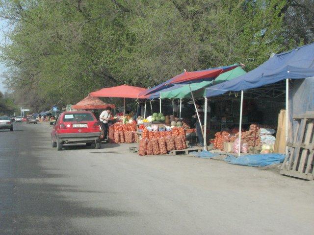 Уличная торговля, Алматы