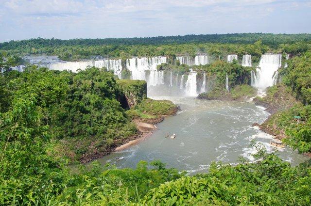 Водопады Игуасу. Бразильская сторона