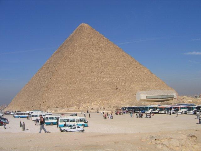 Пирамида Хеопса и Музей Солнечной Ладьи, Египет