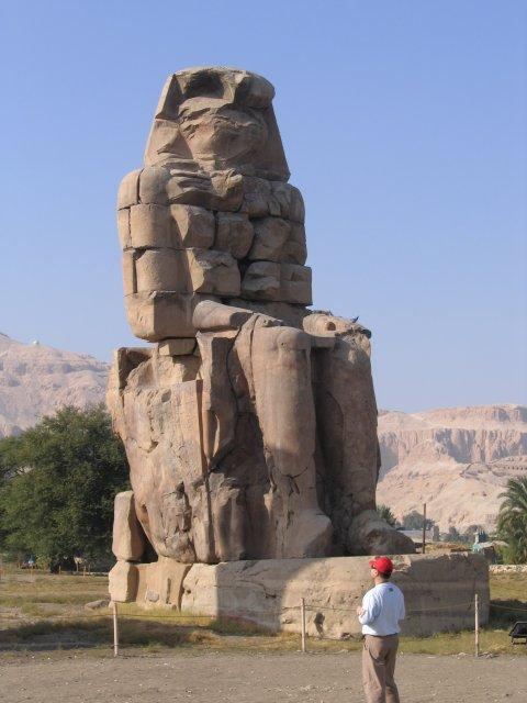 Колосс Мемнона, Египет