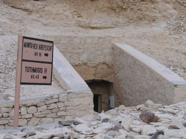 Гробницы фаранов в Долине Царей, Египет