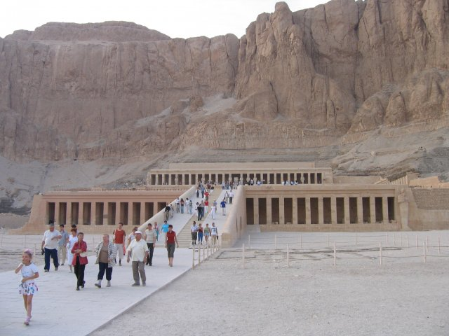 Храм Хатшепсут, Египет