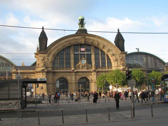 Вокзал, Франкфурт-на-Майне