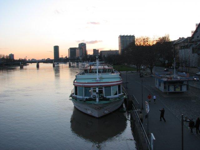 Река Майн, Франкфурт-на-Майне