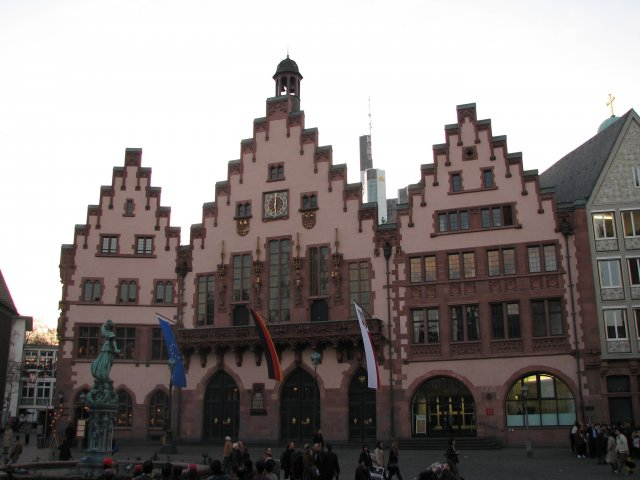 Исторические здания на улице Рёмер, Франкфурт-на-Майне