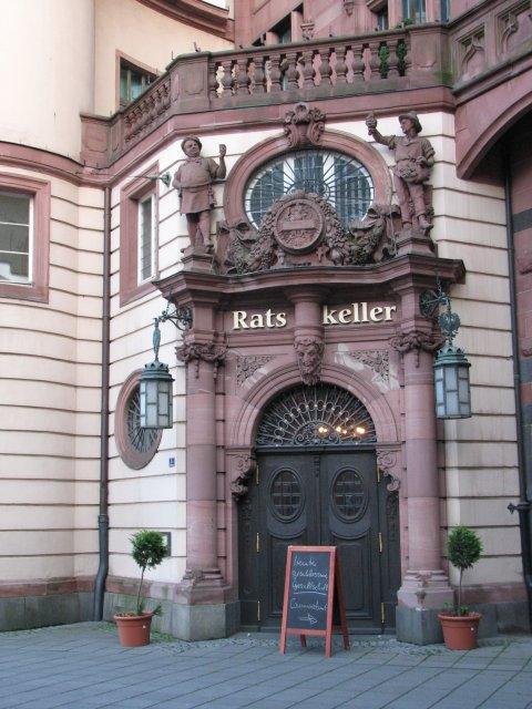 Фрагмент исторического здания, Франкфурт-на-Майне