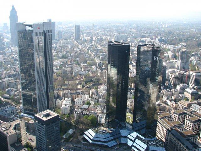 Вид со смотровой площадки, Франкфурт-на-Майне