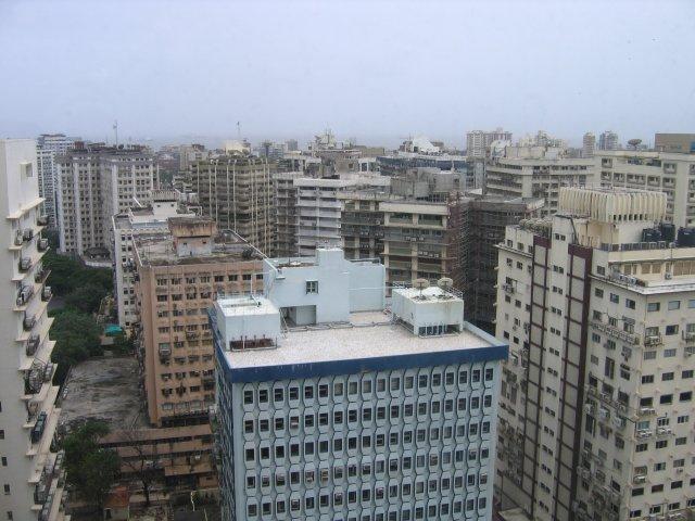 Вид из окна гостиницы, Мумбаи