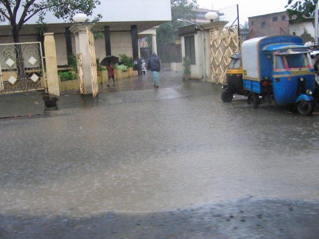 Сезон дождей, Мумбаи