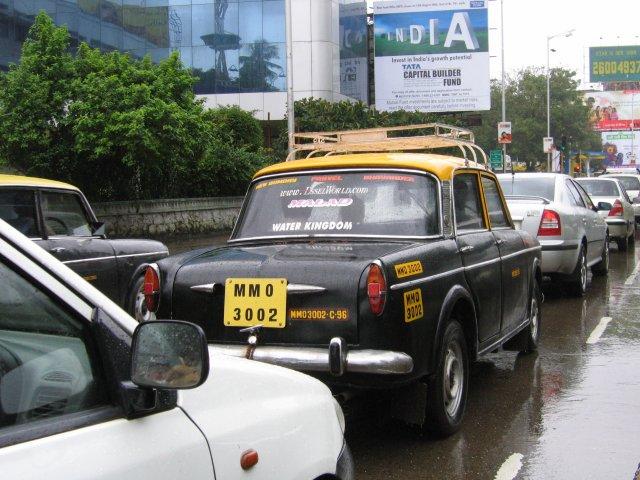 Такси, Мумбаи
