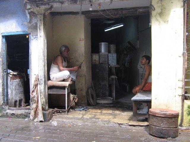 Отец и сын, Мумбаи