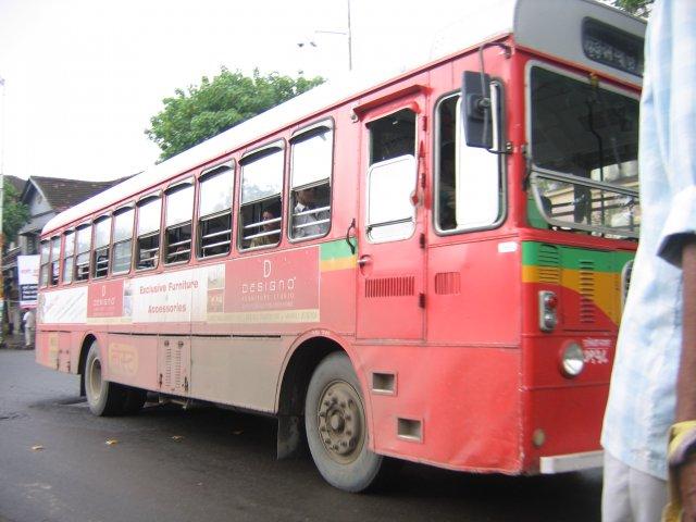 Городской автобус, Мумбаи