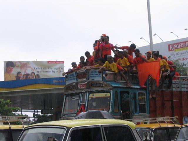 На дорогах Мумбаи