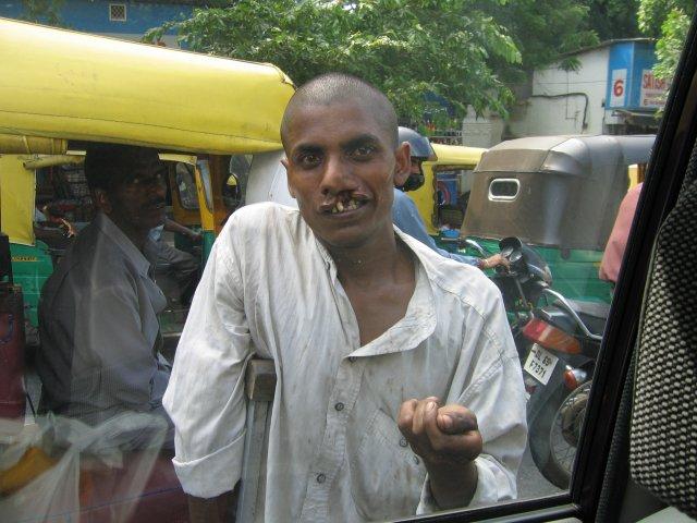 Нищий, Мумбаи