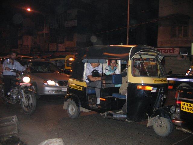 Популярный вид транспорта, Мумбаи
