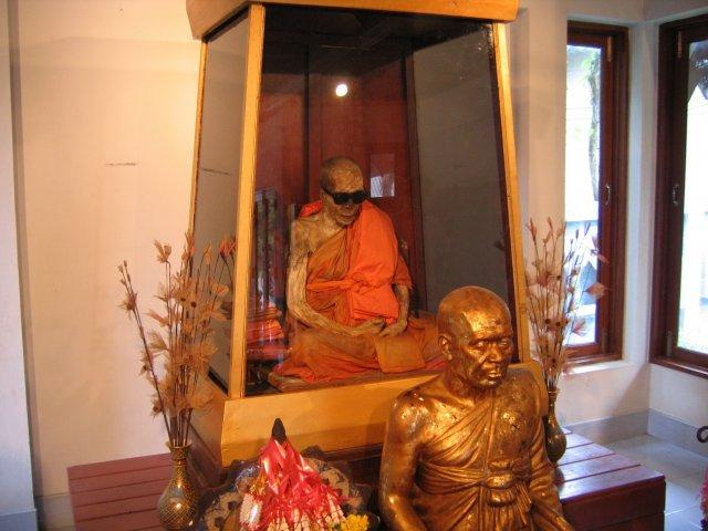 Мумифицированный монах, Самуи