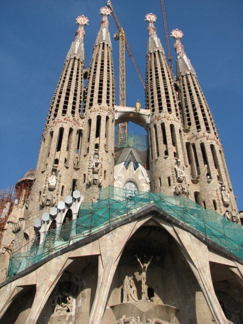 Собор Саграда Фамилия (Св. Семейства), Барселона