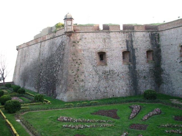 Замок Барселоны