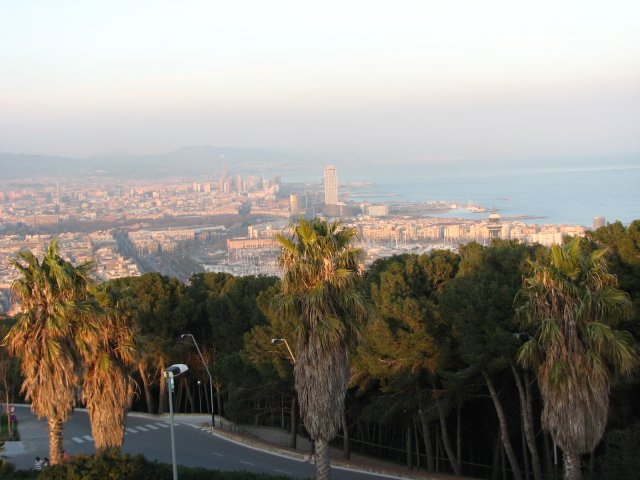 Вид на набережную, Барселона