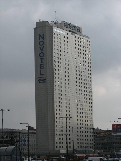 Здание гостиницы Новотель, Варшава