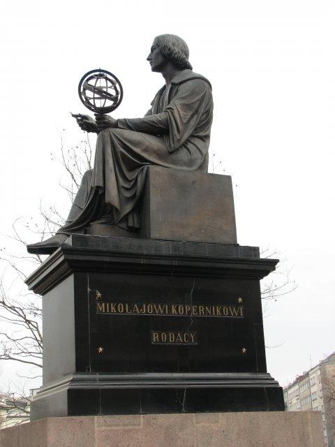 Памятник Николаю Копернику, Варшава
